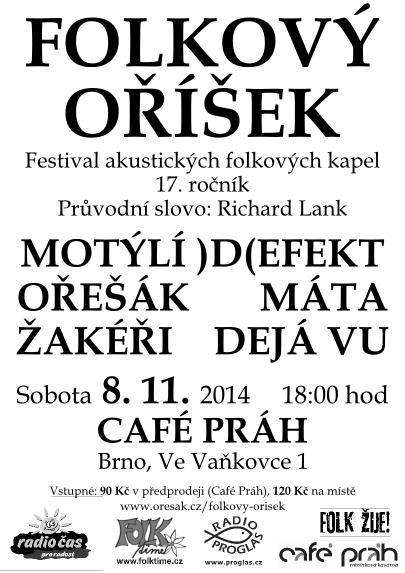 Folkový oříšek 2014 - plakát