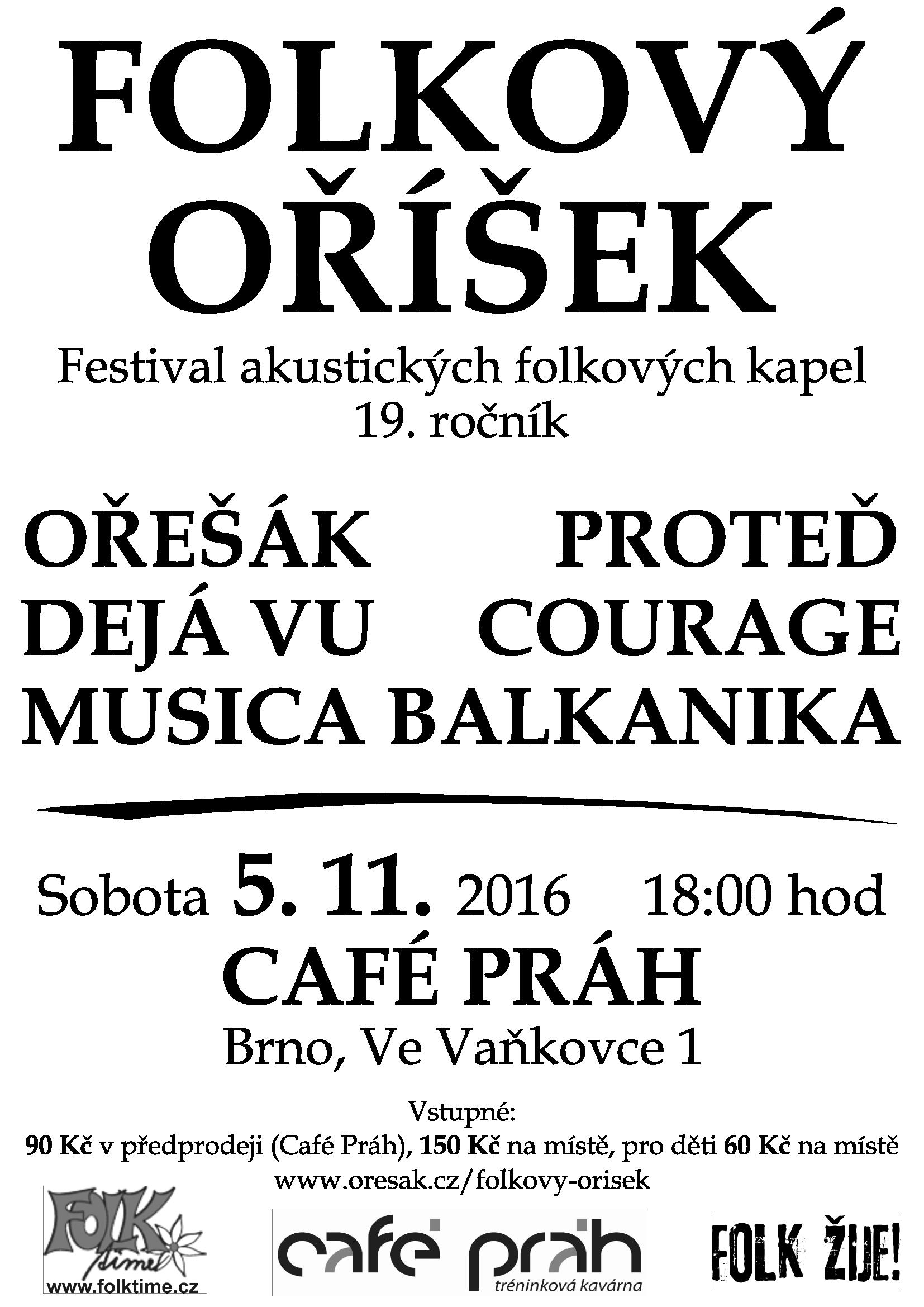 Folkový oříšek 2016 - plakát